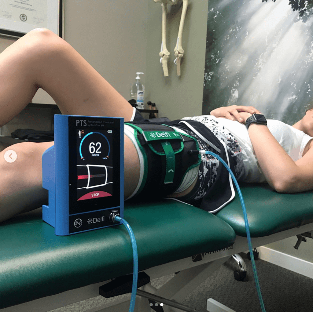 blood flow restriction therapy mechanotherapy